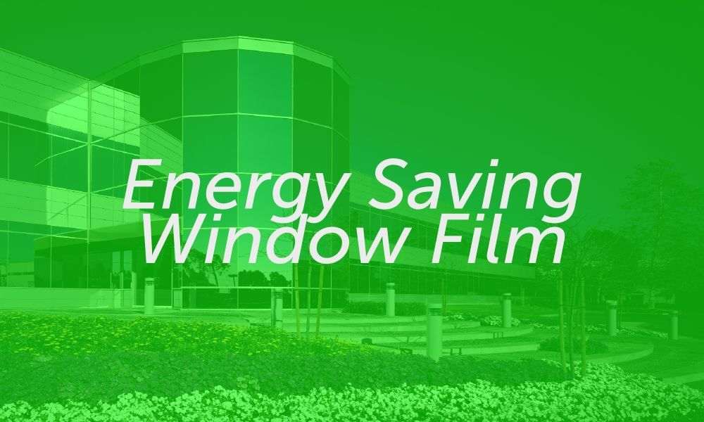 Solar frost one way privacy reflective window film for Energy saving windows