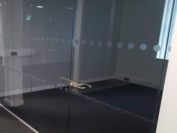 Glass Manifestation Dots Squares